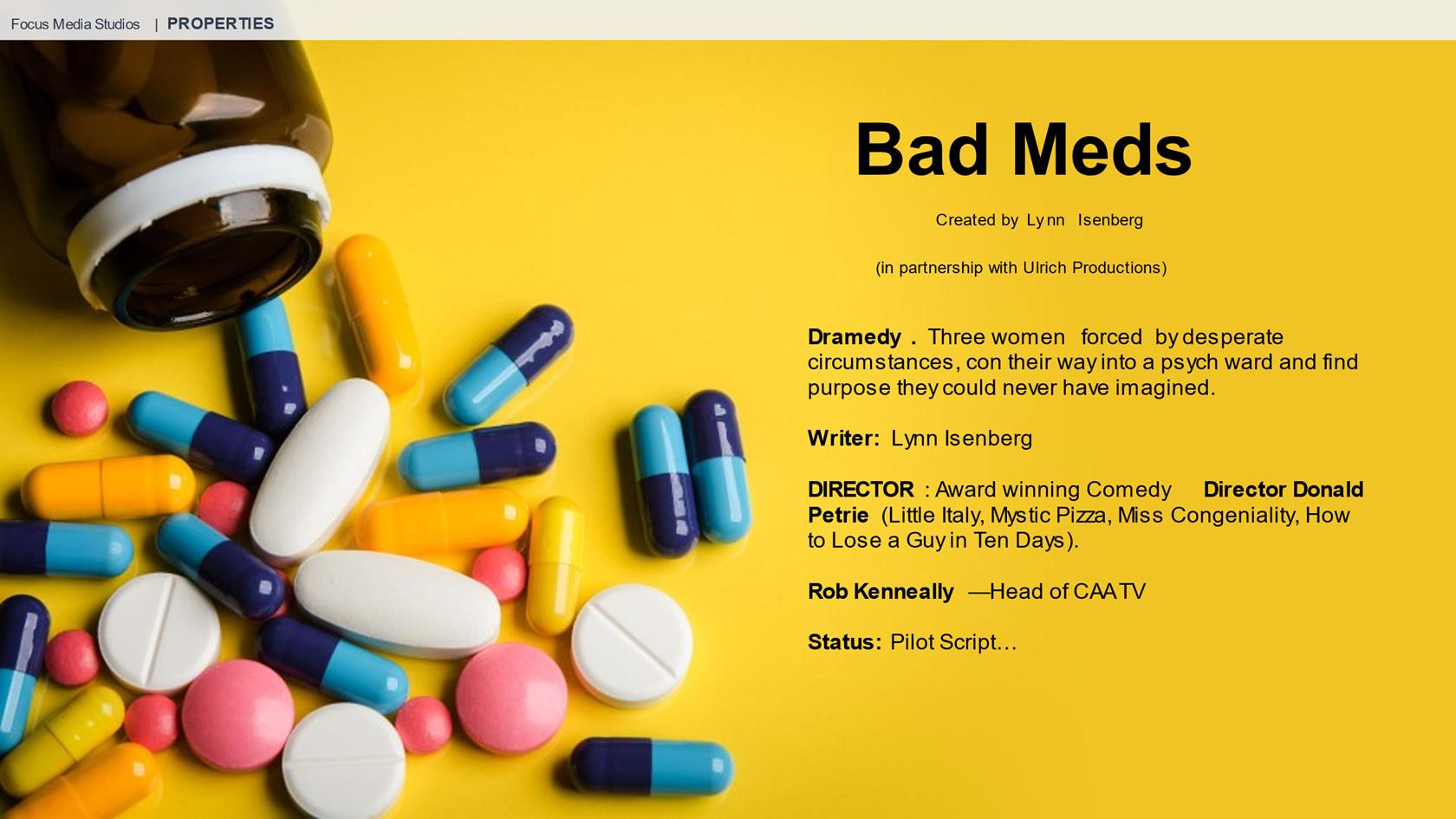 Bad Meds Project