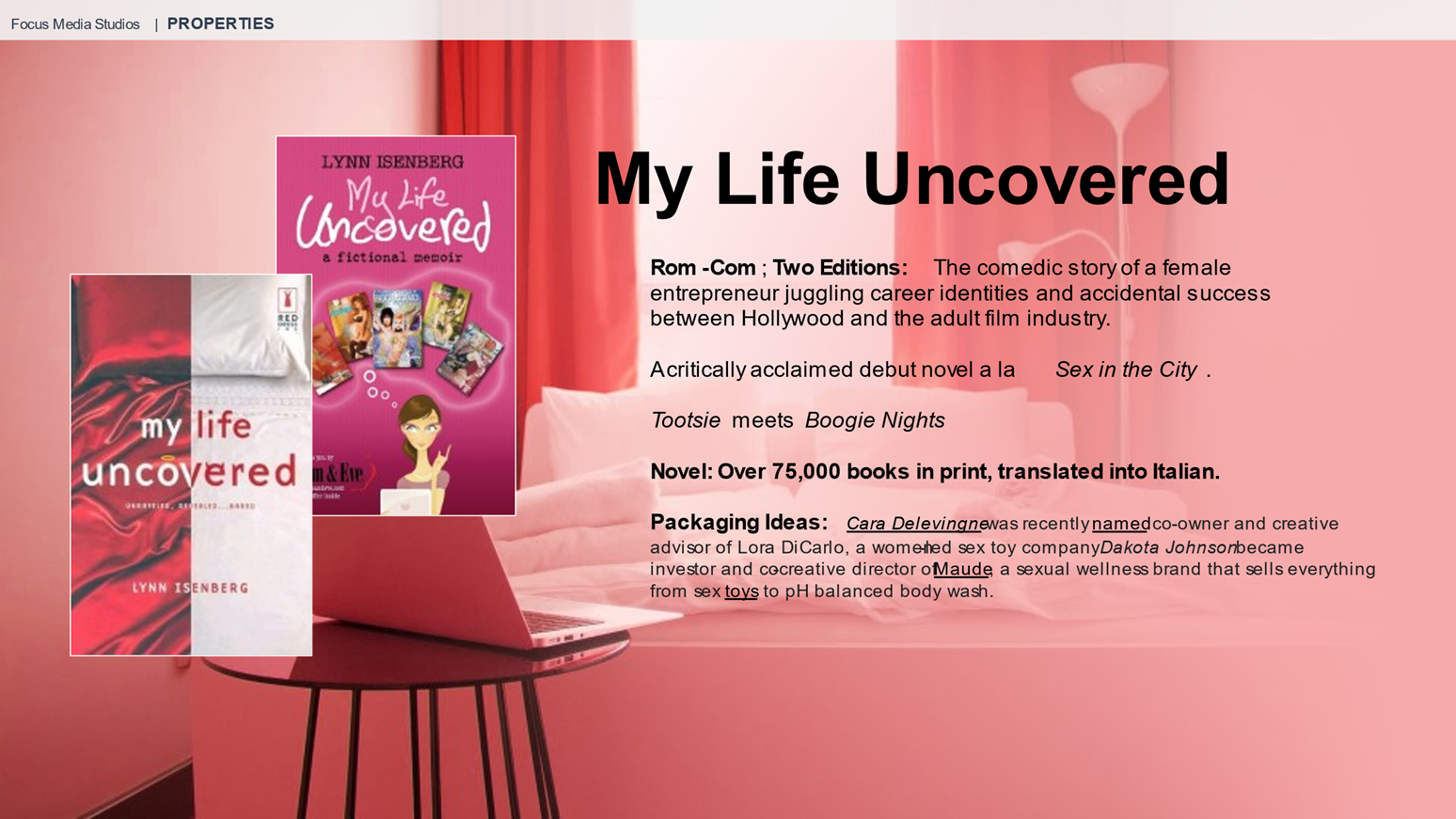 My Life Uncovered Project