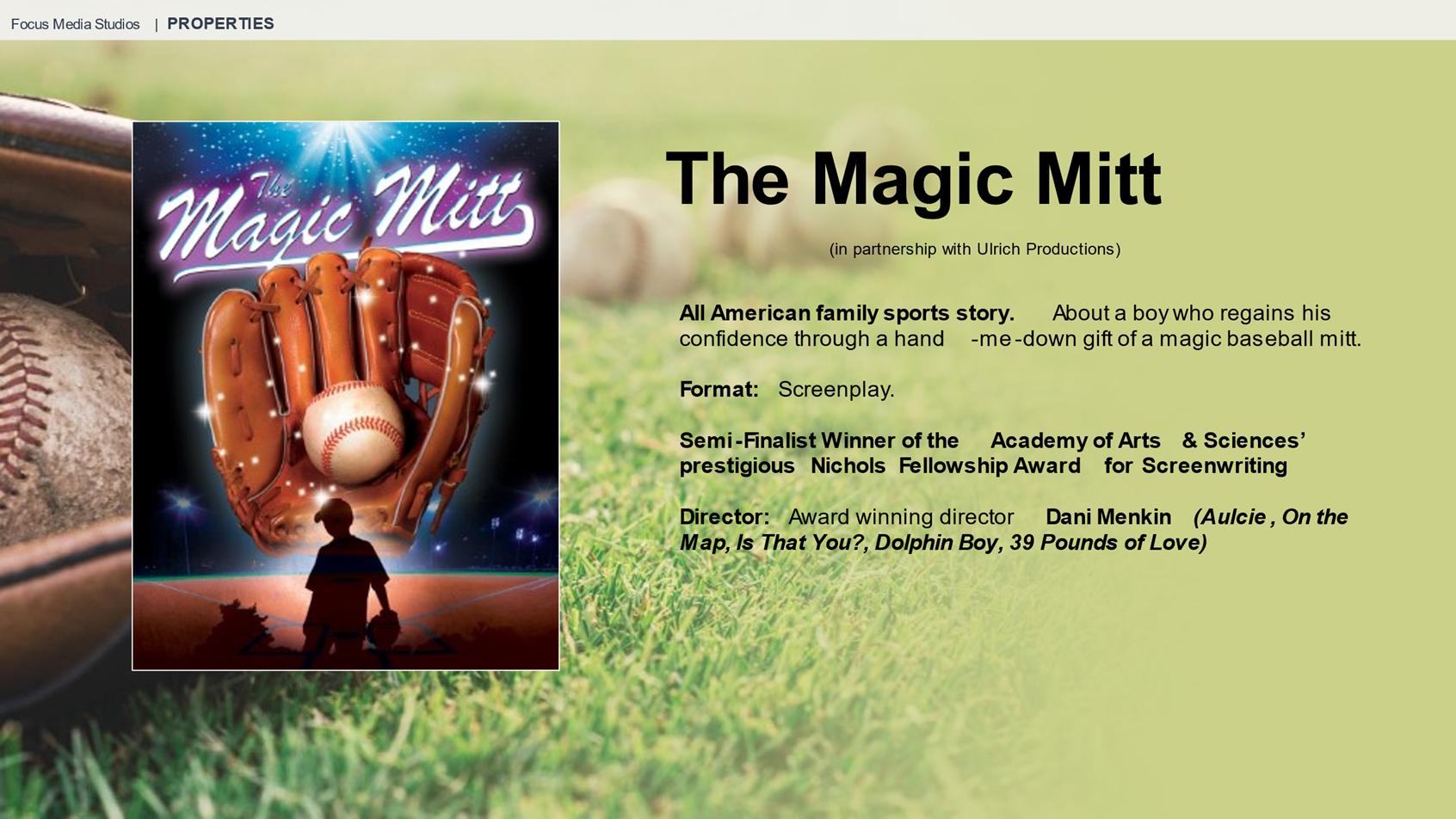 The Magic Mitt Project